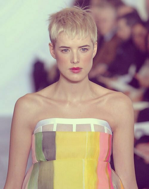 Trendy very short hairstyles 2013