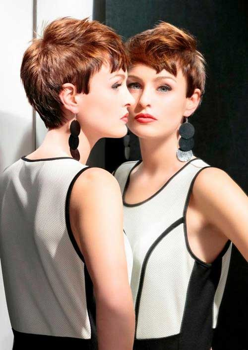 Trendy very short hairstyles for women