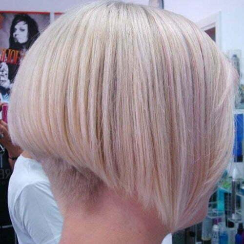 Short undercut bob hairstyles