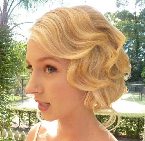 Wedding Hairstyles Classic: Super Short Wedding Hairstyles