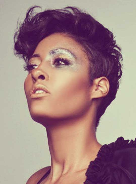 Short Hair for Black Women-1
