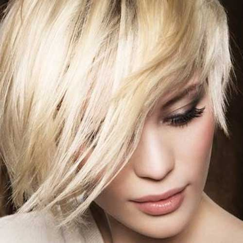 20 Blonde Short Hairstyles 2013-2