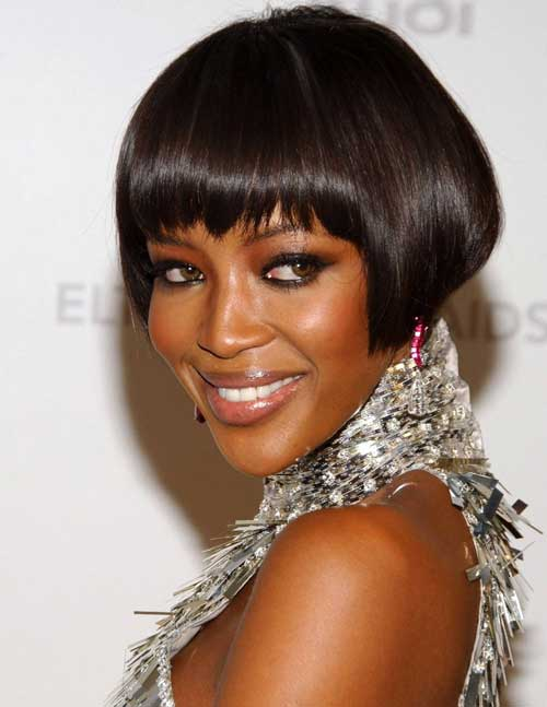 20 Popular Short Hairstyles for Black Women-2