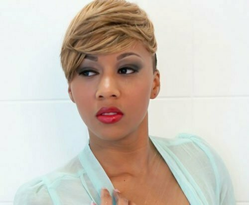 20 Popular Short Hairstyles for Black Women-4