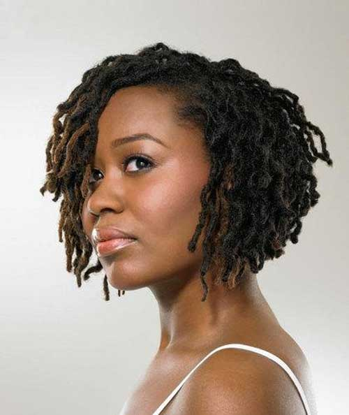20 Popular Short Hairstyles for Black Women-5