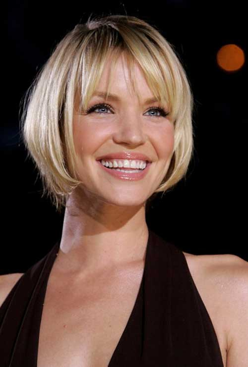 20 Short Hair with Bangs | Short Hairstyles 2017 - 2018