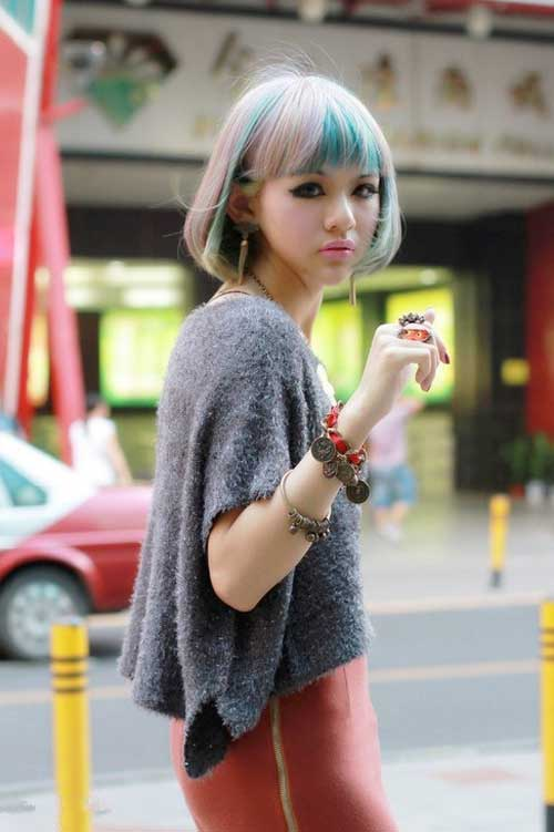 2013 Hair Color Trends for Short Hair-11
