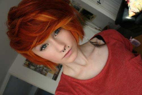 2013 Hair Color Trends for Short Hair-8