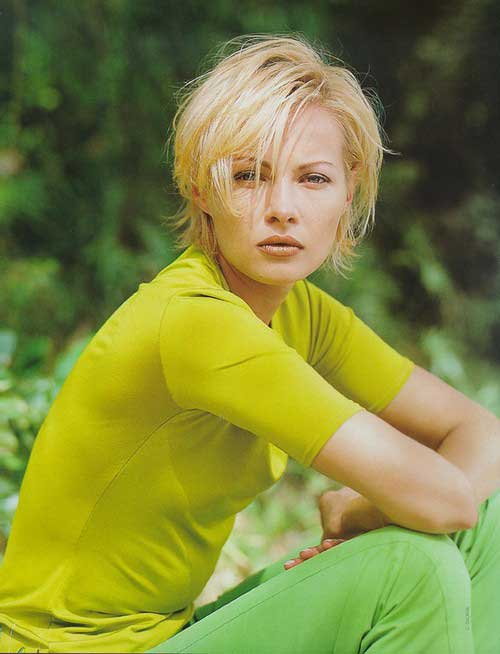 25 Short Hairstyles for Blonde Hair-5