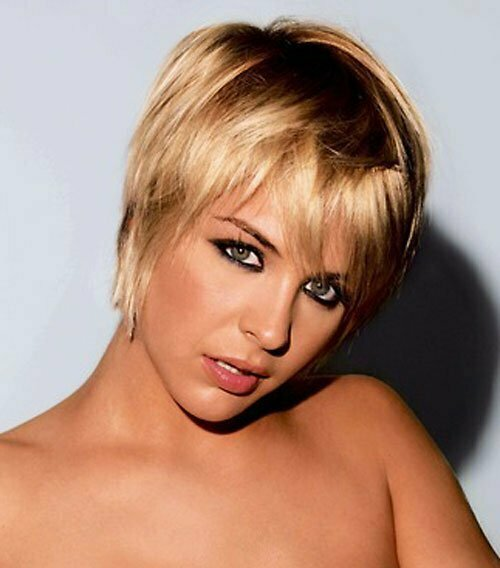25 Short Hairstyles for Blonde Hair-6