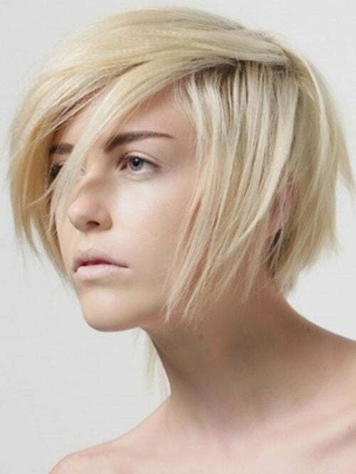25 Short Hairstyles for Blonde Hair-7