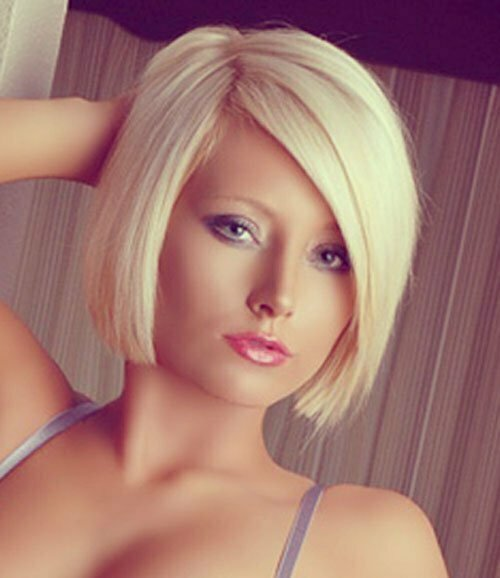 25 Short Hairstyles for Blonde Hair-9