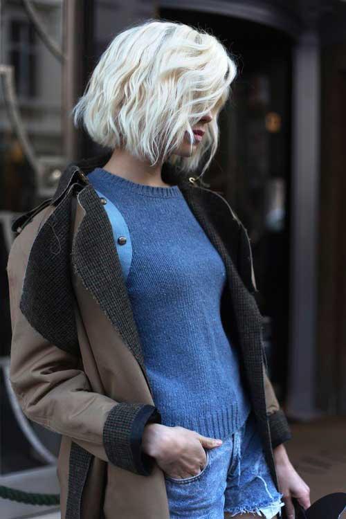 Short Choppy Blonde Hairstyles Best Short Hair Styles