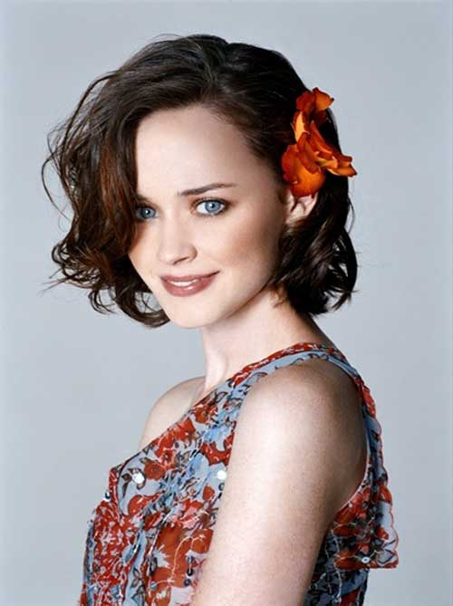 Alexis Bledel short haircut