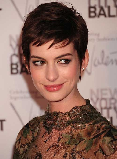 short hot hair styles