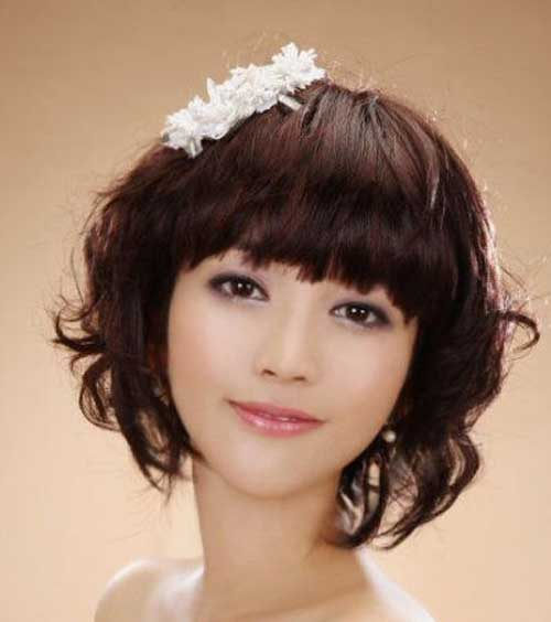 Asian Wedding Hairstyle: 20 Short Hairstyles For Bridal