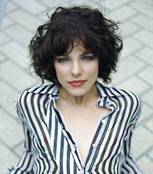 Beautiful Short Curly Hairstyles-5