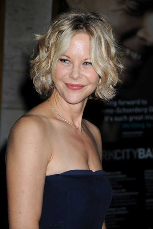 Best Celebrity Short Hairstyles-Meg Ryan