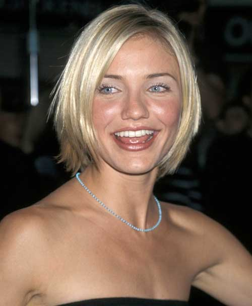 Best Celebrity Short Hairstyles-Cameron Diaz