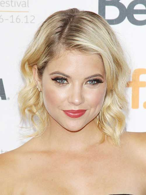 Best Celebrity Short Hairstyles-Ashley Benson