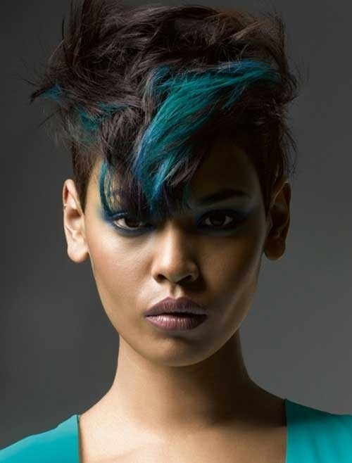 Best Hair Color for Short Hair-1