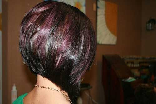 ... contrast look amazing on asymmetrical and inverted bob hairstyles