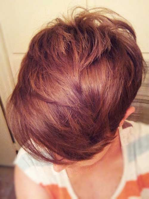 Best Hair Color for Short Hair-3