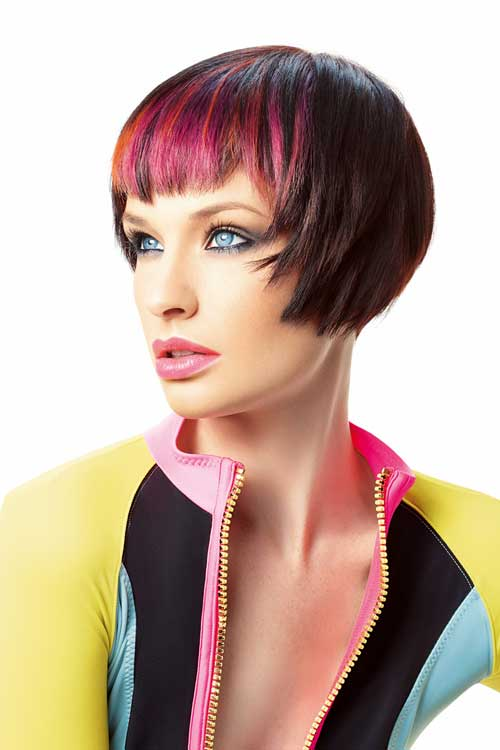 Best Hair Color for Short Hair-4