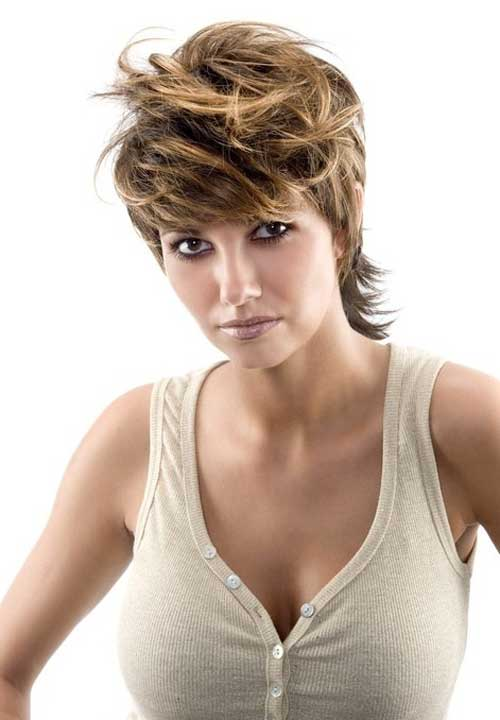 Best Hair Color for Short Hair-5