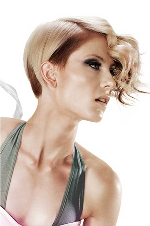 Best Hair Color for Short Hair-7