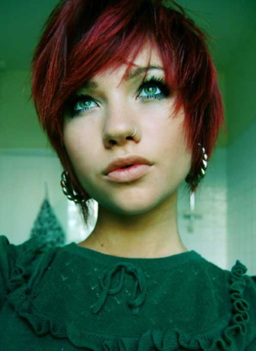 Best Hair Color for Short Hair-8