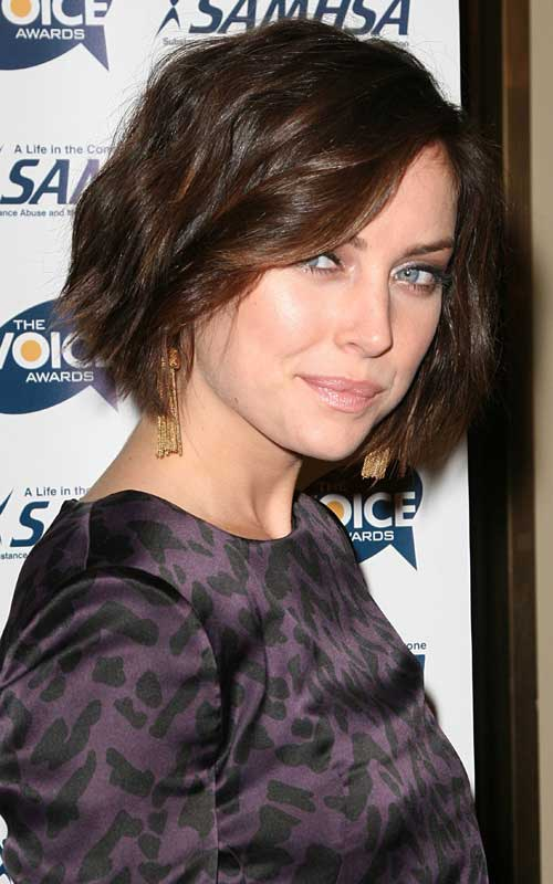 Best Short Haircut for Wavy Hair-7