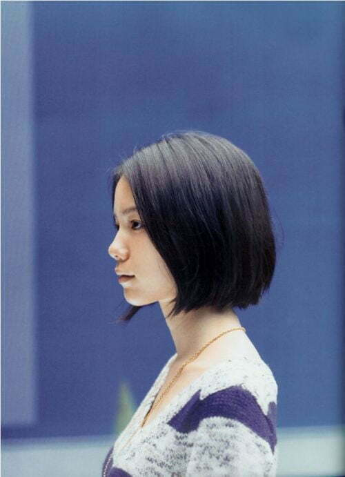 Best Short Haircuts for Straight Hair-8