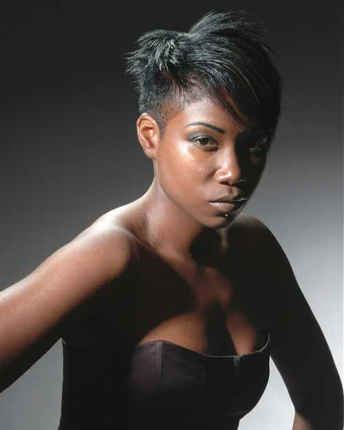 Black Women with Short Hairstyles-4