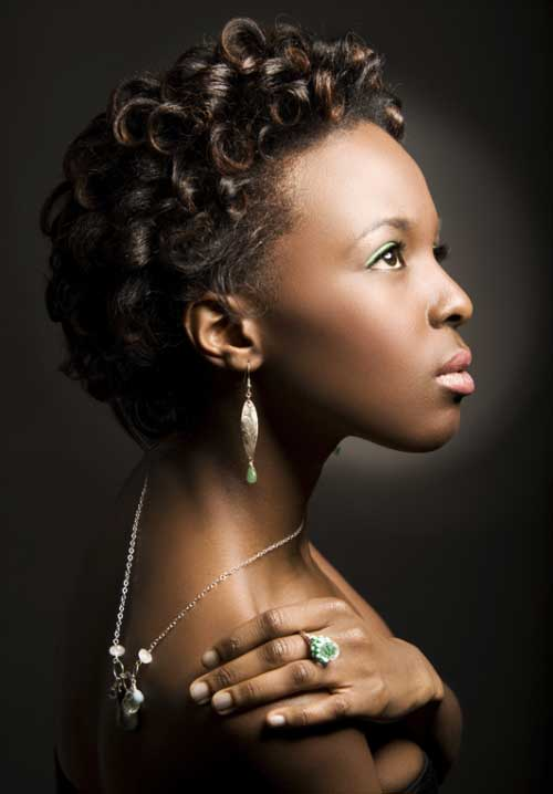 Black Women with Short Hairstyles-6
