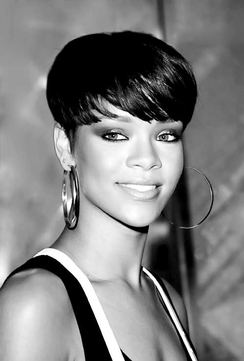 Black Women with Short Hairstyles-7