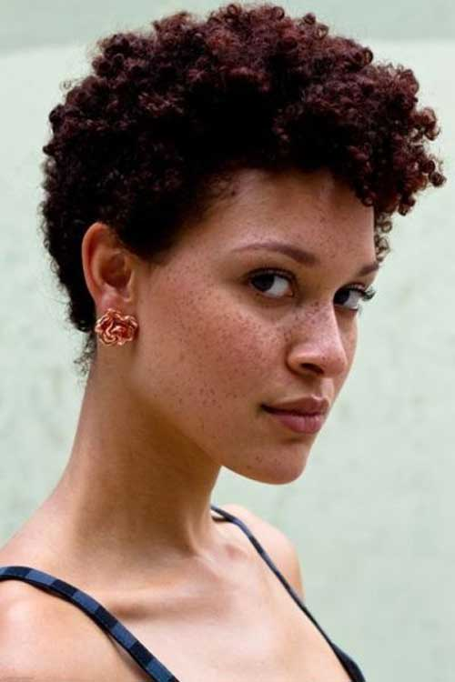 Black women super short hairstyles 2013