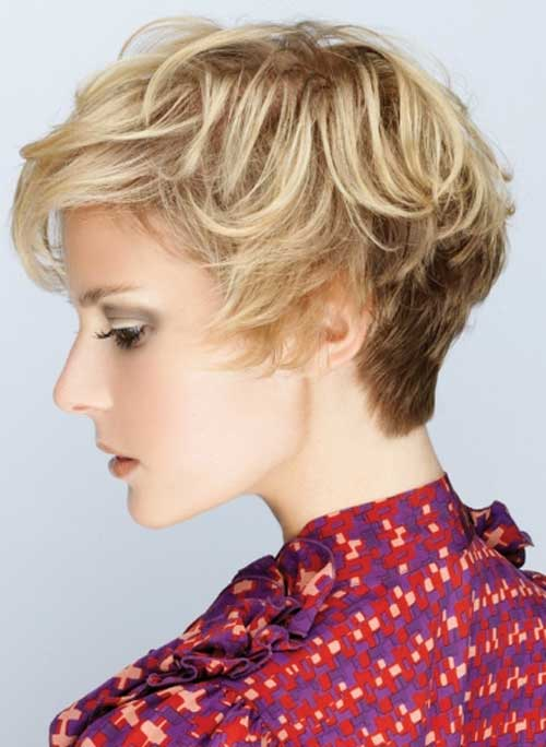 Blonde Short Haircut-1