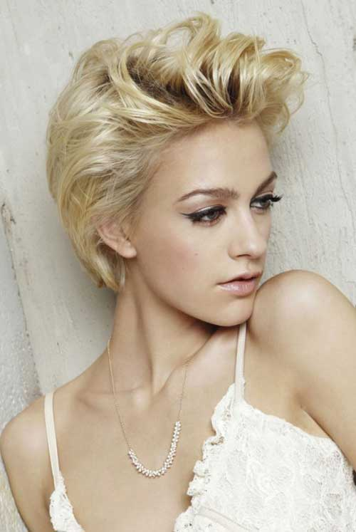 Blonde Short Haircut-16