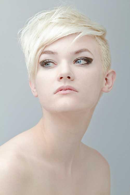 Blonde Short Haircut-4