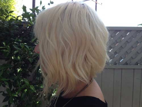 Blonde Short Haircut-7