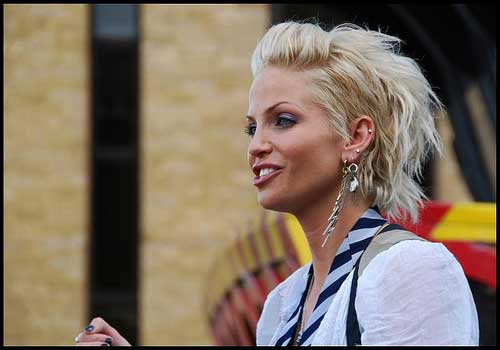 Blonde hairstyles for short hair