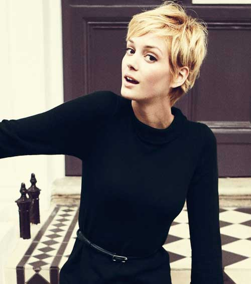 Blonde pixie haircuts 2013