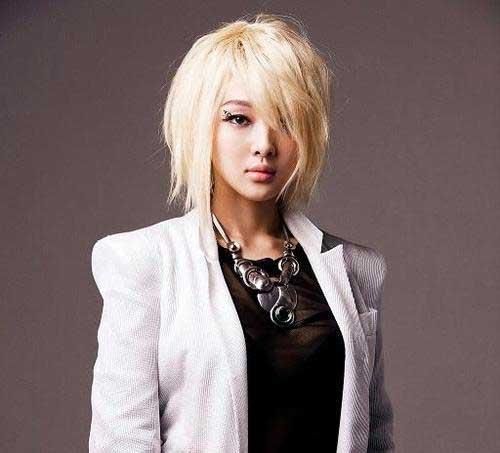 Blonde short Hair 2013-7