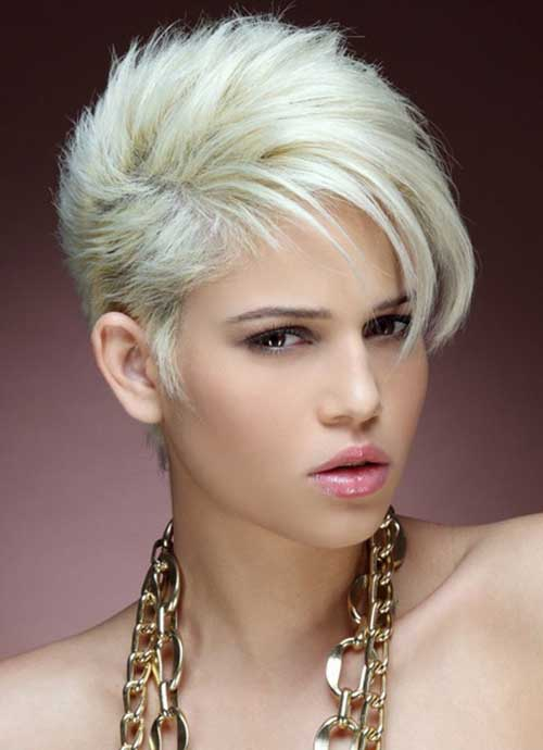 Terrific Blonde Short Hair 2013 Short Hairstyles 2016 2017 Most Hairstyle Inspiration Daily Dogsangcom