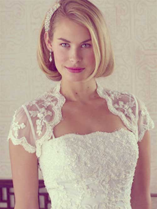 Bridal Short Hair Ideas-1