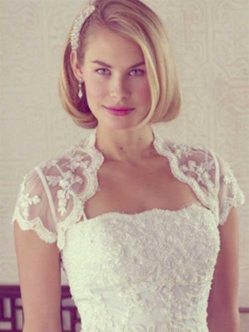 Bridal Short Hair Ideas-1