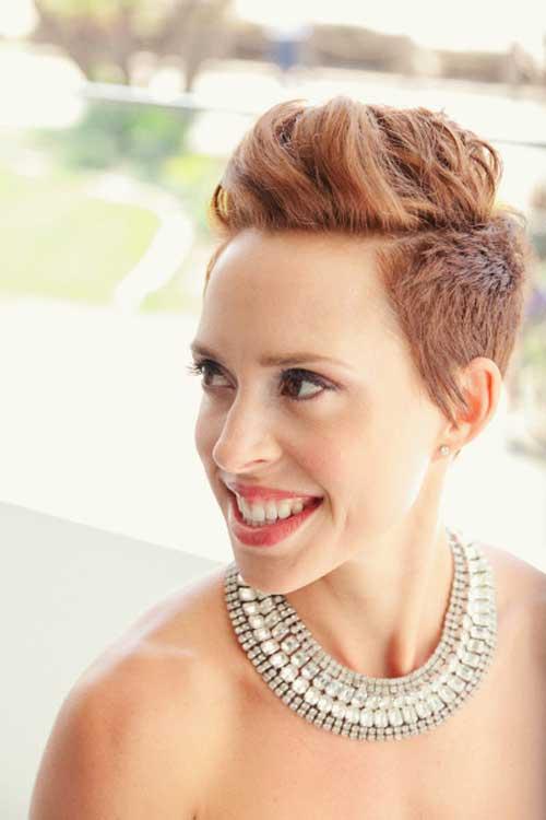 Bridal Short Hair Ideas-2