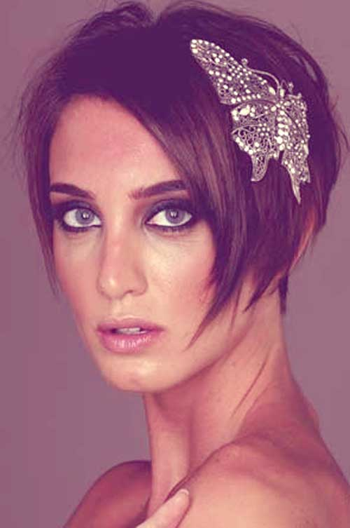 Bridal Short Hair Ideas-3