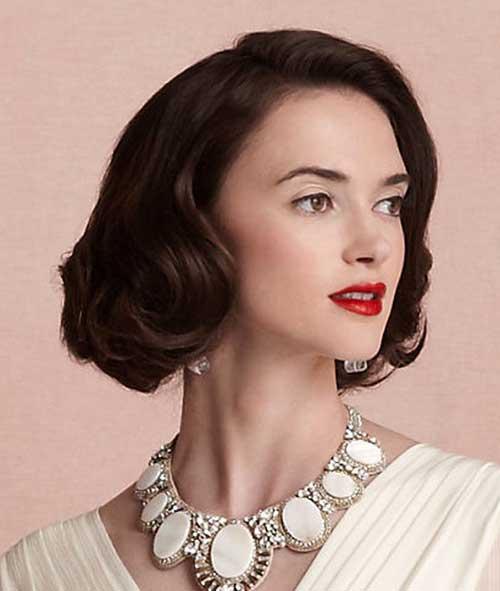 Bridal Short Hair Ideas-4